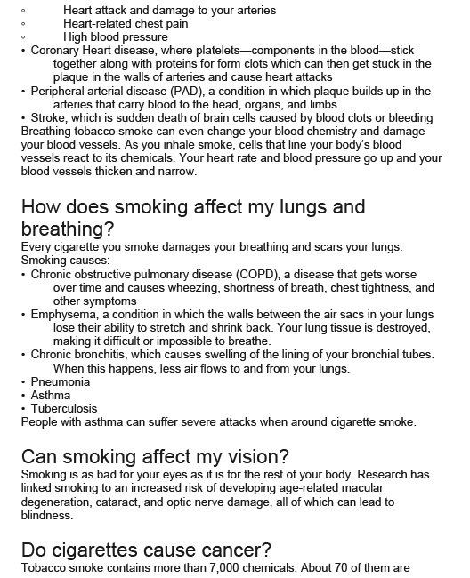 Effects of Smoking on Your Health-2