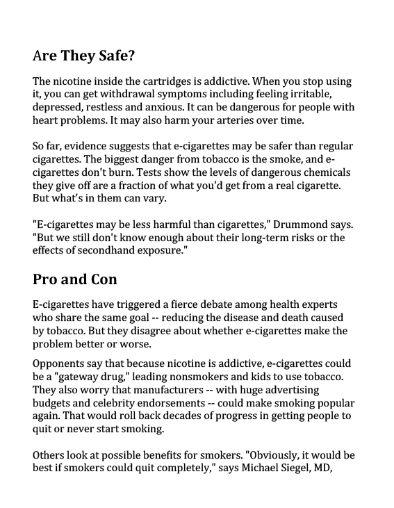 E-Cigarettes 101-2