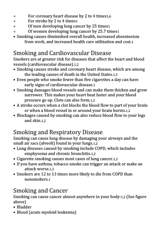 Health Effects of Cigarette Smoking-2