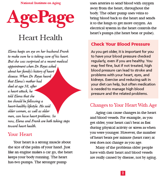 AgePage: Heart Health