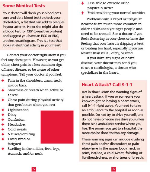 AgePage: Heart Health
