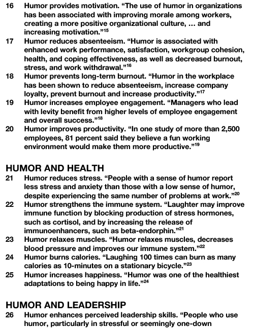 30 BENEFITS OF HUMOR AT WORK-3