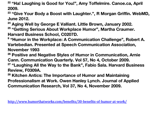 30 BENEFITS OF HUMOR AT WORK-6
