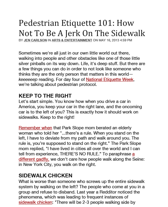 Pedestrian Ediquette-1