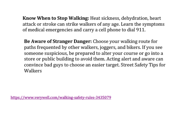 Walking rules-3