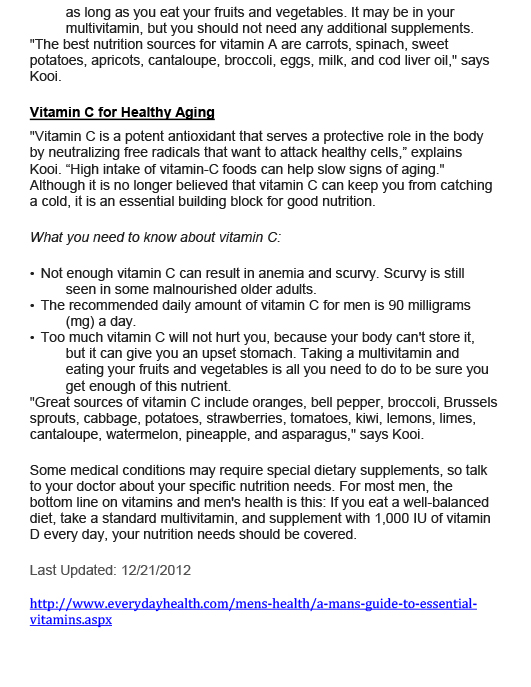 Essential Vitamins for Men-4