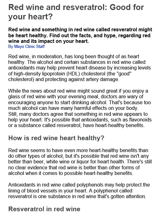 Red wine and resveratrol-1