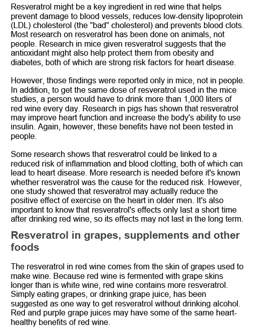 Red wine and resveratrol-2